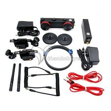 Dual Channel Wireless Follow Focus 200m 2.4G Remote Control for SLR Camera