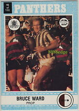 1977 SCANLENS RUGBY LEAGUE TRADING CARD #46: BRUCE WARD - PENRITH PANTHERS