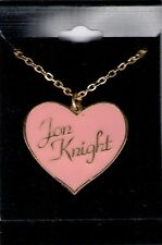 New Kids On The Block Official ©1989 Naughty Bits Jon Knight Heart necklace