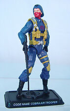 COBRA Legions AIR Pilot TROOPER  v1~ GI Joe~ 25th ANNIVERSARY~ 100% COMPLETE~ b