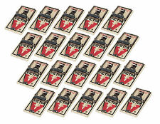 New Victor M150 (20) Snap Spring Wooden Mouse Trap, Rodent Control