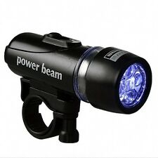 NEW - Power Beam - Super Bright LED Flash Light for Bicycle with Mounting Access
