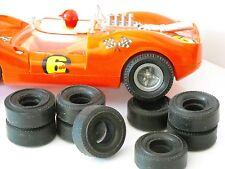 Fleischmann GT  8 reifen URETHANE slot cars tyres  1/32 De