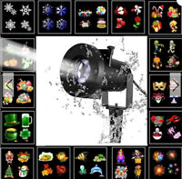 FARETTO 8W remoto Luce di Natale di Scena Proiettore per Festa Impermeabile