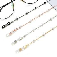 New Eyeglass Glasses Strap Sunglasses Chain Beaded Cord Holder Neck Lanyard 2021