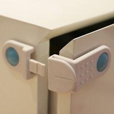 2x Kühlschrank WC-Tür Wandschrank  Kunststoff-Verschluss hoch Qualität