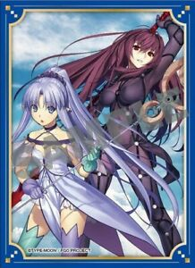 FGO Fate Grand Order vol.8 KS-25 Scathach & Medea Lily Trading Card Sleeve