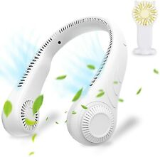 Portable Neck Fan Leafless Cooling Rechargeable Usb Personal Air Conditioner Fan