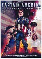 Captian America Signed movie poster print