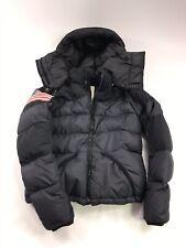 Ralph Lauren Denim & Supply American Flag Down Puffer Jacket Hooded womens Sz S