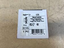 Legrand 1275 30amp single pole double throw BROWN SWITCH NEW