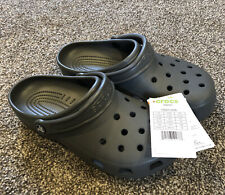 Nwt Crocs Classic gray Mens 7/ Womens 9