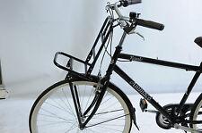 """Frente de estilo holandés portabicicletas rack Resistente 30 cm X 20 cm para bicicleta de 26/28"""" ruedas"""