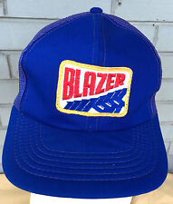 Vintage Blazer Blue Mesh Trucker Snapback Baseball Cap Hat Hipster