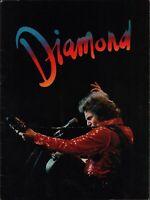 NEIL DIAMOND 1977 YOU DON'T BRING ME FLOWERS TOUR CONCERT PROGRAM BOOK / EX 2 NM