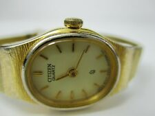 "Citizen by Seiko Women's Gold-Toned Watch ""5n2274"""