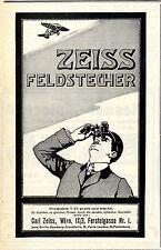 Zeiss Feldstecher (Aeroplan) Wiener Annonce von 1911