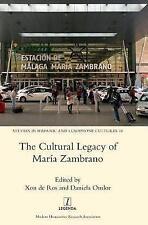 Il patrimonio culturale di Maria Zambrano da XON DE ROS, Daniela omlor (rigida,...
