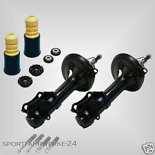 2x Premium Öldruck Stoßdämpfer Serie vorne 2x Domlager 2x Staubschutz VW LUPO 6X