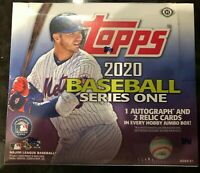 2020 Topps Series 1 Baseball Jumbo Hobby Box - Factory Sealed