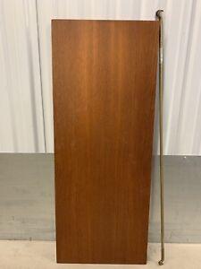 Ladderax teak shelf long Deep 89cm x 35.5cm with 2 support bars (14A)