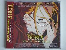 New Witch Hunter Robin Original Sound Score #2 OST CD Anime 23T Soundtrack OBI
