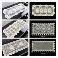 Vintage Lace Table Runner Mats Doilies Wedding Party Home Decor Floral 15x31inch
