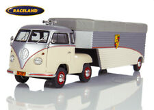 VW T1b Sattelauflieger Porsche Renntransporter Continental 1960, Schuco 1:43