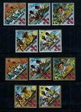 BURUNDI #207-211; C41-C45 Used 1967 BOY SCOUTS, Postage & Airmail Complete Set