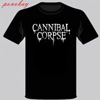 New Cannibal Corpse Logo Men's Black T-Shirt Size S-3XL