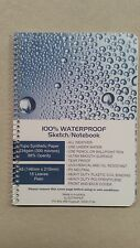WATERPROOF NOTEBOOK 234GSM YUPO SYNTHETIC PAPER A-5