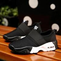 Men Running Shoes Sneakers Breathable Mesh Sports Casual Couple Athletic Shoes