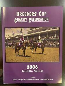 2006 Breeders Cup Program - Louisville, KY