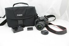 Canon Rebel T3/EOS  Digital Camera w/ 18-55MM Lens, batteries, charger, case