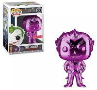 Funko Pop Games Arkham Asylum PURPLE Chrome Joker Target Exclusive