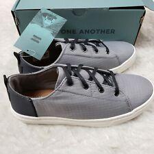 TOMS Lenn Neutral Sneaker Gray Nylon Ripstop Size 5 Youth New in Box