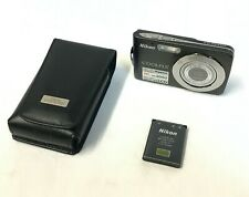Nikon CoolPix S210 8MP Digital Camera w/ Case