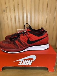 Nike Flyknit Trainer Sneakers Shoes University Red [AH8396-601] Mens Size 11