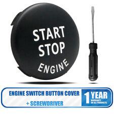 New Black Engine Button Switch Cover For BMW X1 X5 X6 3 Series E90 E91 E92 E93
