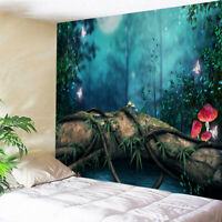 Forest Jungle Tapestry Printing Wall Hanging Tapestry Curtain Wall Posters Decor