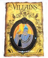 DLRP DLP LE 700 Disney Pin✿Hercules Evil Villain Hades Framed Series Flames Rare