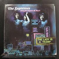 The Supremes - Sing Rodgers & Hart LP VG+ MS-659 Motown Stereo 1967 Vinyl Record