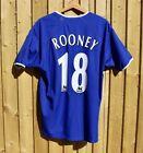 Everton 2003-04 Home Shirt 'Rooney 18'