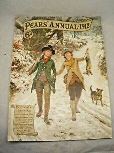 Pears' Christmas Annual 1912 Ads Tints Illustrations English Paper Magazine