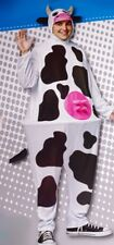 Adult Womens Mens COW Funny Farm Animal Halloween Costume Suit S M L XL NEW
