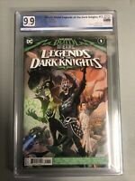 Death Metal Legends of the Dark Knights #1 1st Robin King PGX 9.9 NOT CGC