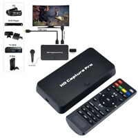 1080P HDMI Video One-Click Recorder Game Capture Box TV Playback Live Streaming