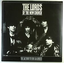 """12"""" LP - The Lords Of The New Church - The Method To Our Madness - A4496"""