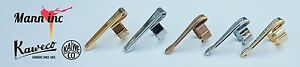 Kaweco Octagonal Sport Clip, Gold, Chrome and Bronze, Deluxe versions available