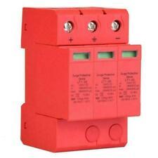 DC Überspannungsschutz Ableiter 3P 3.0 kV Gleichstrom für Blitzschutz 20KA/40KA